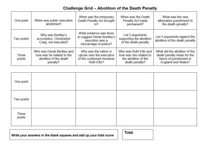 challenge grid